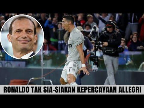 Juve kalahkan Udinese, Ronaldo tak sia – siakan kepercayaan Allegri dengan mencetak satu gol