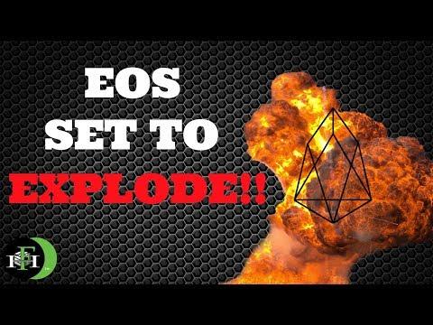 EOS COIN EOS SET TO EXPLODE? (WATCH)