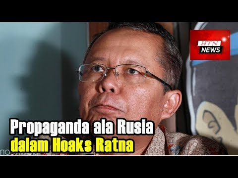 Kubu Jokowi Duga Ada Propaganda ala Rusia dalam Hoaks Ratna