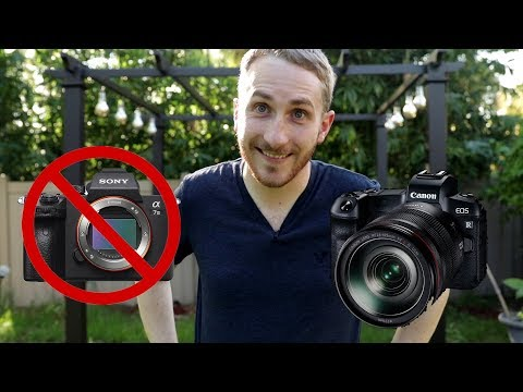 Buying the Canon EOS R instead of the Sony A7iii | 5 Reasons Why
