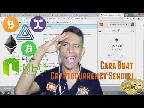 Gini Rupanya Cara Buat Cryptocurrency Sendiri, Gampang Anjaaaay !!!