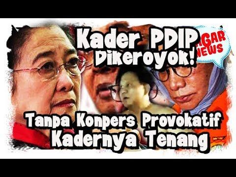 Kader PDIP Diker0y0k, Bu Mega Minta Kadernya Tenang, Tak Ada Konpres Provokatif