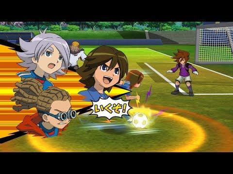 Inazuma Eleven Go Strikers 2013 Inazuma Japan Vs Neo Japan Wii 1080p (Dolphin/Gameplay)