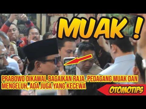Prabowo Dikawal Bagaikan Raja, Pedagang Muak Dan Mengeluh, Ada Juga Yang Kecewa – OTOMOTIPS