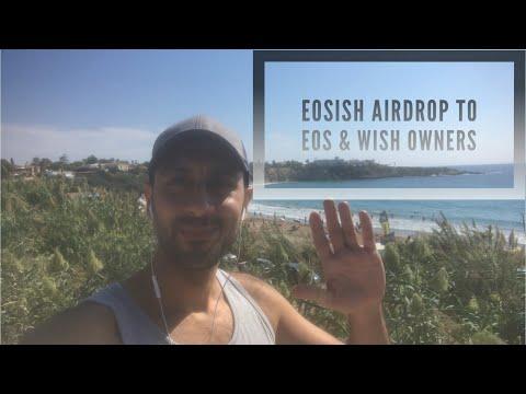 EOSISH WISH EOS توزيع عملة ايوسش بالمجان لحاملي عملات ايوس و ويش