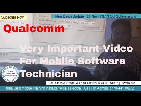Very Important Video For MobileSoftwareTechnician-QualcommFlash,Diag,QCN,EMMCFaultExplain by Student