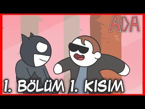 BATMAN POSTAL DUDE'A KARŞI  | ADA 1. BÖLÜM 1. KISIM |  OYUN ÇİZGİ DİZİSİ #1