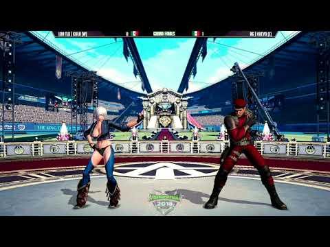 拳皇KOF14 总决赛 Kula vs. Huevo – (Neo Geo World Tour Season 2)