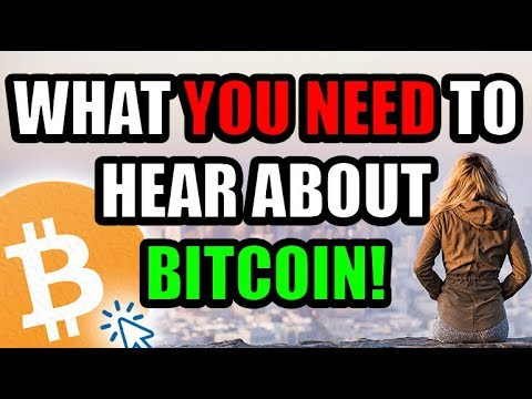 What YOU NEED To Hear About BITCOIN!  [Cryptocurrency Perspective & Motivation]