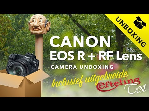 Canon EOS R + RF Lens unboxing & Efteling test – Kamera Express