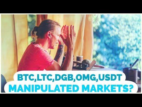 MANIPULATION?! -B.S – OMG, BITCOIN, Digibyte, Litecoin- (Arcane Bear)