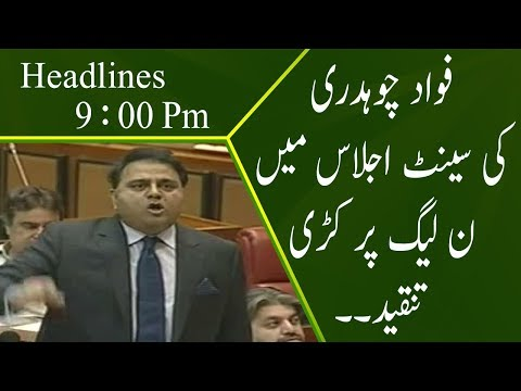 Neo News Headlines Pakistan @ 9 Pm | 8 October 2018