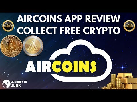 Aircoins App Review – Earn FREE Crypto! – Augmented Reality for Cryptocurrency