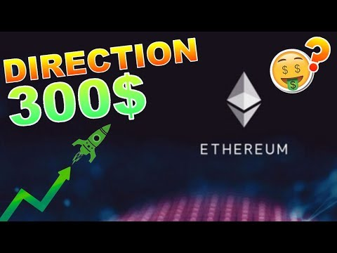 ETHEREUM 300$ EN VUE !!!??? ETH analyse technique crypto monnaie bitcoin