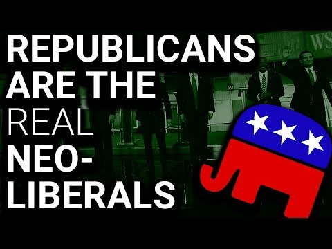 Republicans Are The Real Neo-Liberals