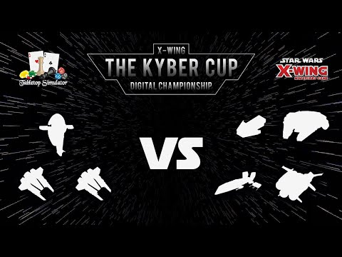 The Kyber Cup 2018 | X-Wing 2nd Edition | Swiss Round 4 | M00ninite vs. EpicNerd