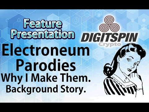 Why I Make $ETN #Electroneum Crypto Parody Memes – Background Story – Show Excerpt