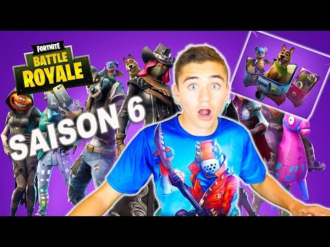 JE TESTE LA SAISON 6 !!! –  FORTNITE BATTLE ROYALE – Néo The One