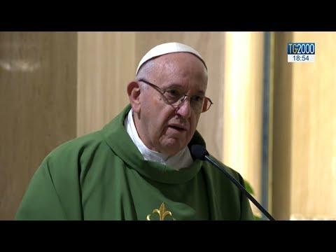 Papa Francesco a Santa Marta: Contemplazione e servizio, questa sia la nostra strada