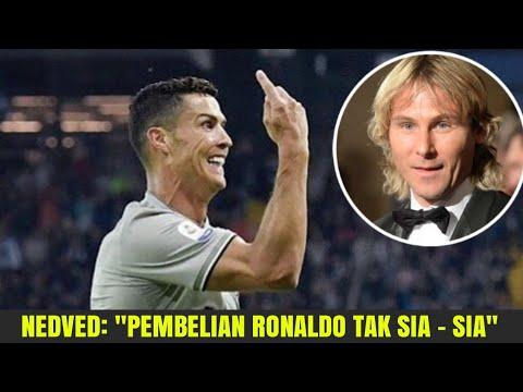 "Juventus tampil apik sejauh ini, Wapres Juventus Nedved: ""Tak sia – sia Juventus datangkan Ronaldo"""
