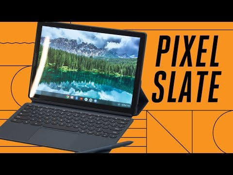 Pixel Slate: first look at Google's Chrome OS tablet
