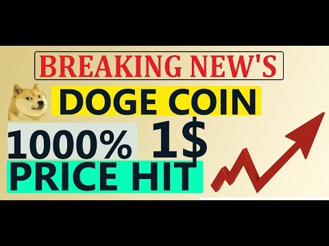 DOGE COIN PRICE PREDICTION 1$ PRICE HIT | PRICE MOVING UP | DOGECOIN MINING | WALLET #GAMESZCRYPTO
