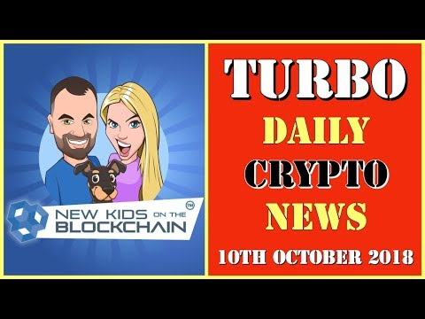 Crypto Turbo Daily News –  1 MINUTE NEWS.  BTC,  EOS and MORE!