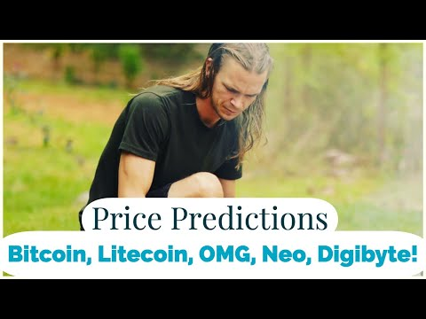 PREMIERE! Price Predictions- Bitcoin, Litecoin, Digibyte, OMisego and NEO (ARCANE BEAR)