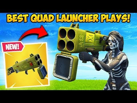 NEW *QUAD LAUNCHER* IS INSANE! – Fortnite Funny Fails and WTF Moments! #348