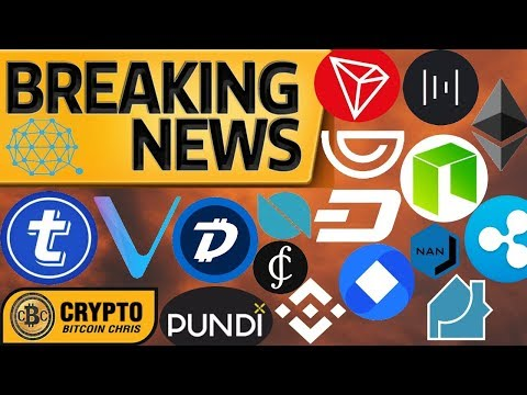 YOU MUST KNOW THIS!? PRIVACY COINS to EXPLODE!? DGB BLASTS Binance!? PundiX Phone!? VeChain&DHL