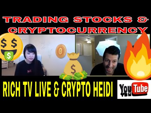 Trading Stocks & Cryptocurrency