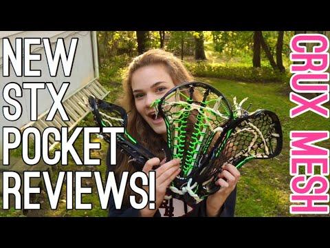 STX CRUX MESH REVIEW! | LaxGirlsWorld