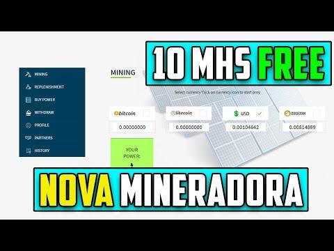 Nova Mineradora SolarMining 10 MHS FREE | Minere BTC,USD,LTC e DOGE GRÁTIS !