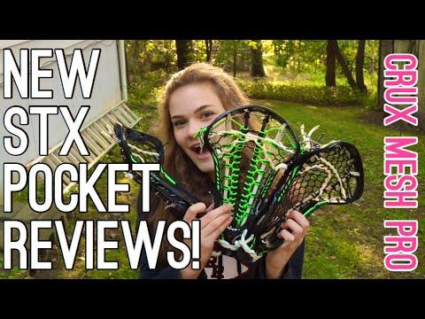 STX CRUX MESH PRO REVIEW! | LaxGirlsWorld
