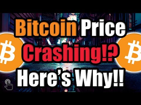 The Bitcoin (BTC) Price is Crashing — HERE'S WHY?! [Cryptocurrency News]