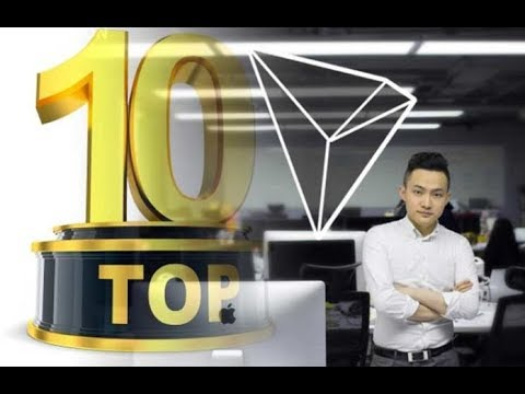 TRON (TRX) Will Surge Into Coinmarketcap's Top 10 in the Next 6 Months ! Justin Sun Says