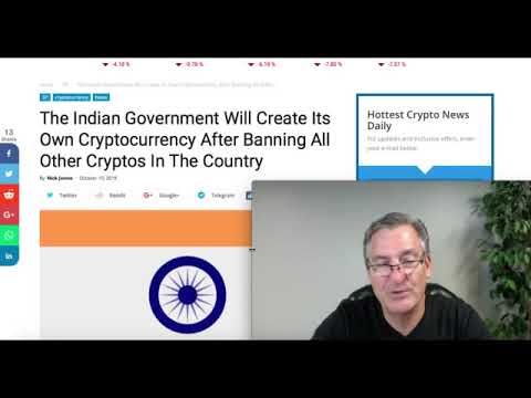 Indian Gov't Will Create Its Own Cryptocurrency