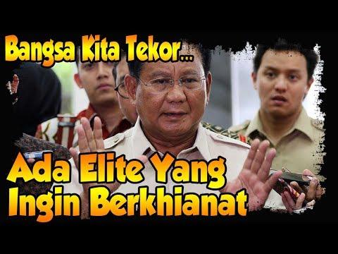Kata Prabowo ada Elite yang Ingin Berkh (ian) at Terhadap Rakyatnya? Jangan Hoax Lagi ya
