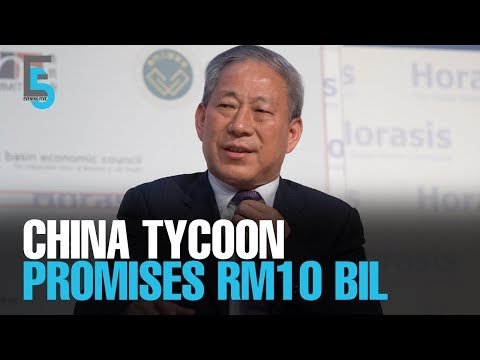 EVENING 5: China tycoon to invest RM10b in M'sia