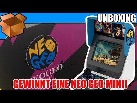 GEWINNT EINE NEO GEO MINI INTERNATIONAL! – Unboxing + Kurzeindruck! #NERDNEOGEO