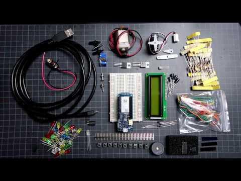 Arduino IOT kit  z MKR100 (prezentacja i przykład)
