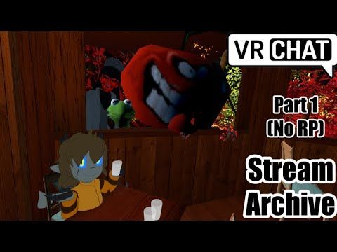 [VRC Stream] New Character, Oogie's Visit, and a Mad Monster Mansion (Part 1) (No RP)