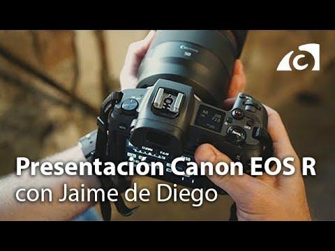 Presentación de la Canon EOS R con Jaime de Diego
