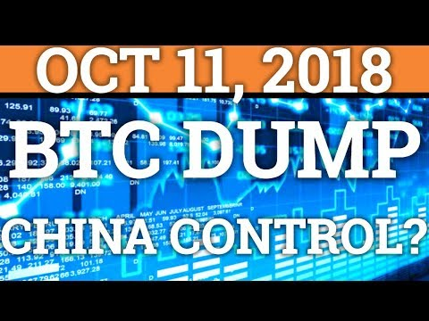 BIG BITCOIN BTC DUMP! CHINA CAN DESTROY BITCOIN? (CRYPTOCURRENCY PRICE + DAY TRADING + NEWS 2018)