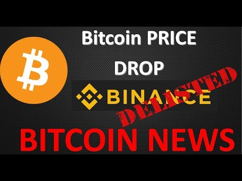 Bitcoin News: Bitcoin Drop and Binance Delisting (BCN, CHAT, TRIG, ICN)