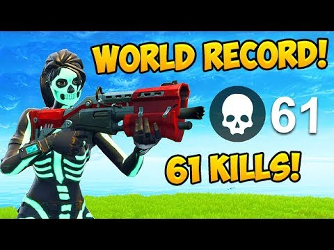 61 KILLS BY ONE SQUAD! *NEW RECORD* – Fortnite Funny Fails and WTF Moments! #349