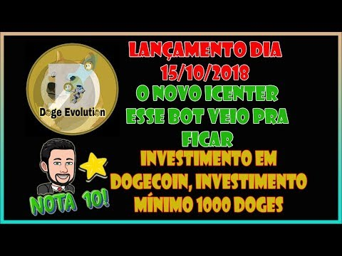 DOGE EVOLUTION NEWS – O BOT QUE VEIO SUBSTITUIR O ICENTER