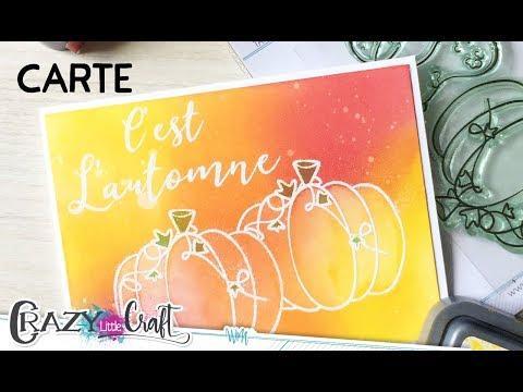 Carte automnale par Laety Sia