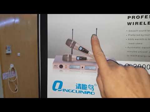 Míc không dây QCN Q2000. Giá rẻ. 1.9tr. Hay đến ngỡ ngàng. Cty0936583140