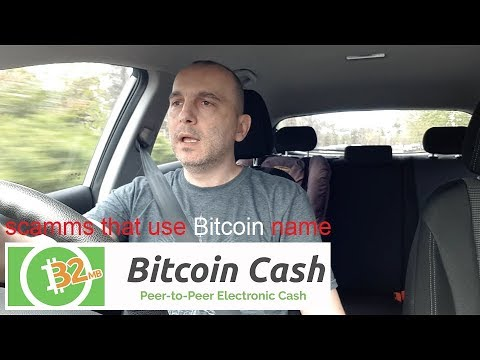Who is really scamming you by using Bitcoin name for something that is not Bitcoin?